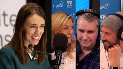 Jacinda Ardern shares with Jase, Toni & Sam what her Mother's Day plans are