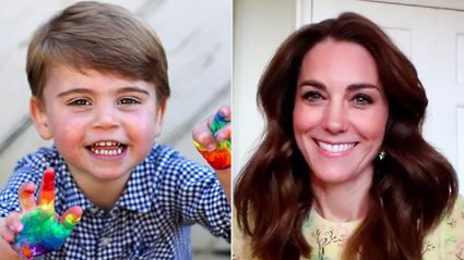 Kate Middleton shares sweet behind-the-scenes details of Prince Louis' photoshoot via rare video call