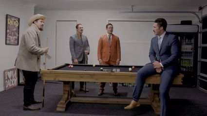 Joseph Parker channels Anchorman's Ron Burgundy for hilarious 'Afternoon Delight' parody