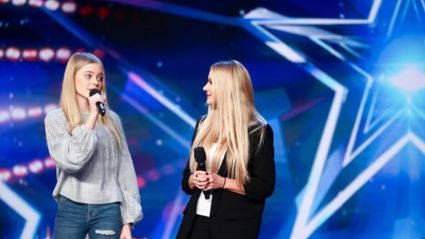 Mum and daughter Honey and Sammy's golden moment on Britain's Got Talent