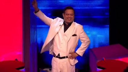 The Chase's Paul Sinha channels John Travolta with dancing entrance