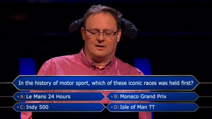 Who Wants to Be a Millionaire contestant misses out on $1million because of this question