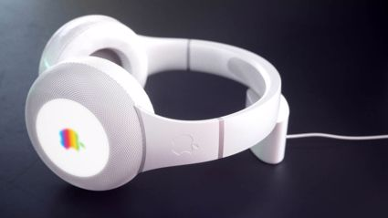 One of the possible designs for the new headphones- Picture from Apple