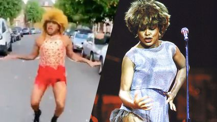 WATCH: Professional dancer wows neighbourhood with unbelievable Tina Turner impression