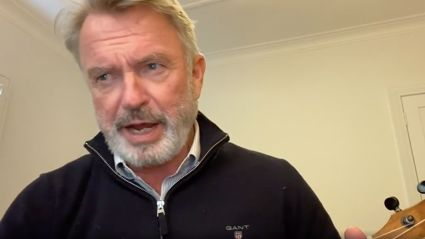 Sam Neill's cover of 'Uptown Funk' will leave you in stitches