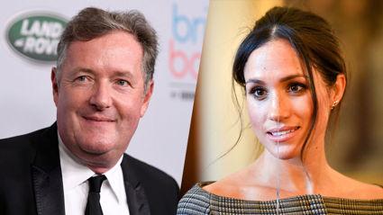 UK broadcaster Piers Morgan admits he took criticism of Meghan Markle 'too far'