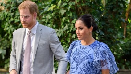 Prince Harry and Meghan Markle have erected 10-foot security screens around their LA mansion
