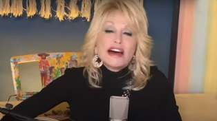 Dolly Parton performs emotional acoustic rendition of 'Try' for charity
