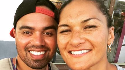 """Valerie Adams shares adorable family photo of her daughter and son showcasing her """"new skill"""""""