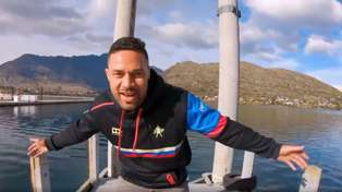 Joseph Parker releases his own music video for Dave Dobbyn's 'Slice of Heaven' showcasing NZ