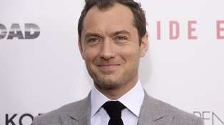 Jude Law is to be a father for the sixth time