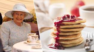 Queen Elizabeth shares her super easy personal recipe to make her favourite pancakes