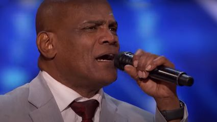 Wrongly-imprisoned singer stuns with powerful Elton John cover on America's Got Talent