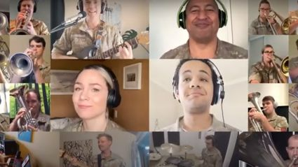 New Zealand Army Band wows with impressive music medley of iconic Kiwi hits