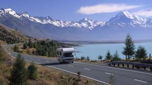 You can now hire a campervan for $29 a day to explore New Zealand!