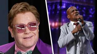 Elton John moved to tears by wrongfully imprisoned America's Got Talent performer