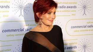 Sharon Osbourne shows off her natural grey hair as she opens up about ditching the red hair dye