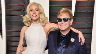 Lady Gaga releases first duet with Elton John - and it's Elton as you've never heard him before!