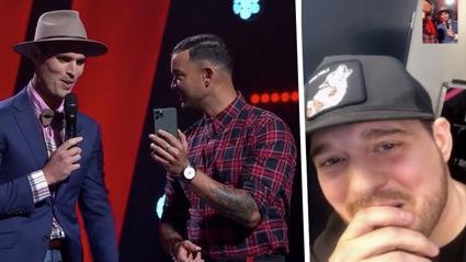 Michael Bublé makes surprise appearance on 'The Voice Australia' for crooner contestant