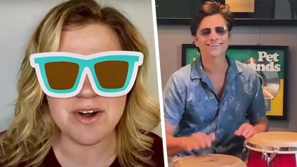 Kelly Clarkson and John Stamos team up for fun cover of The Beach Boys' classic 'Kokomo'