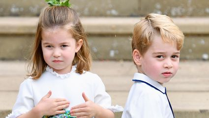 Kate Middleton shares sweet new photo of Prince George and Princess Charlotte volunteering