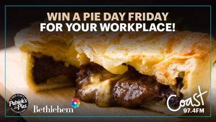 BAY OF PLENTY: Win a 'Pie Day Friday' for your workplace!