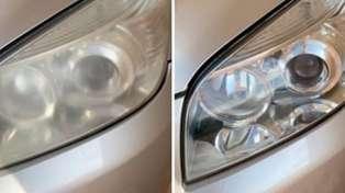 Mum shares genius trick to de-fog car headlights instantly
