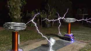 "Enjoy Toto's ""Africa"" Played Entirely on Tesla Coils"