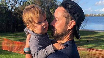 Sam Wallace shares adorable photos of his son Brando getting his first haircut