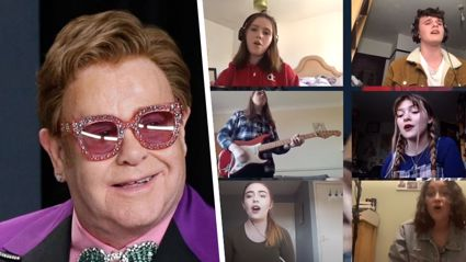 School students blow Elton John away with their impressive cover of 'I'm Still Standing'
