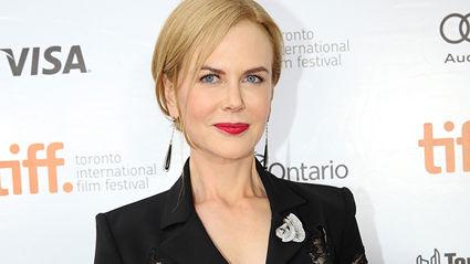 Nicole Kidman embraces her natural hair during lockdown