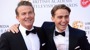 Bradley and his son, Barney, star in a new TV series on TVNZ 1. Breaking Dad / Getty Images