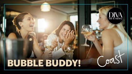 HAWKES BAY: Win a Diva Bar and Eatery voucher for your Bubble Buddy!