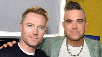 Ronan Keating and Robbie Williams record 'special' song dedicated to Boyzone's Stephen Gately