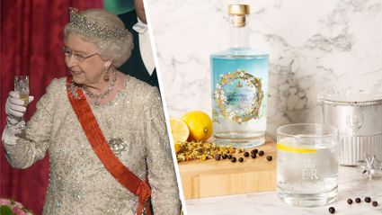 The royal family are releasing their own gin made from Queen Elizabeth II's very own garden