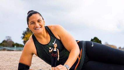 Valerie Adams is getting her very own Barbie doll in celebration of her sporting successes