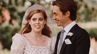 ROYAL WEDDING: Princess Beatrice shares two new beautiful wedding photos