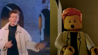 YouTuber recreates a LEGO version of Rick Astley's 'Never Gonna Give You Up'