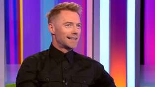 Ronan Keating gets emotional while discussing his new tribute song to Boyzone's Stephen Gately