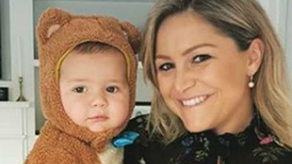 Toni Street shares adorable picture of baby Lachie as he ticks off another exciting milestone