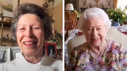 WATCH: Princess Anne gives Queen Elizabeth a lockdown Zoom lesson
