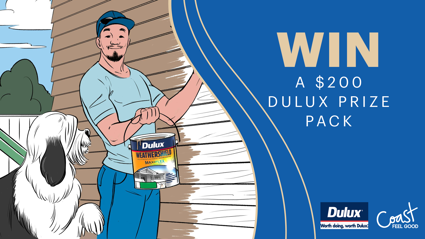 Win a $200 Dulux Prize Pack