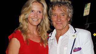Rod Stewart's wife Penny Lancaster shows off her new uniform ahead of joining the police