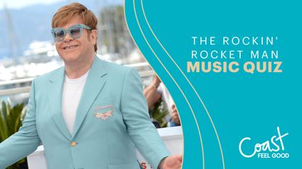 The Rockin' Rocket Man Music Quiz