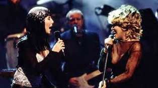 WATCH: Tina Turner, Elton John and Cher's incredible live performance of 'Proud Mary' from '99
