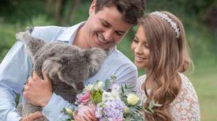 Bindi Irwin announces she's expecting her first child with Chandler Powell in the sweetest way