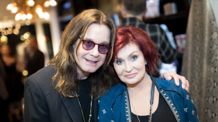 Ozzy and Sharon Osbourne tease upcoming biopic