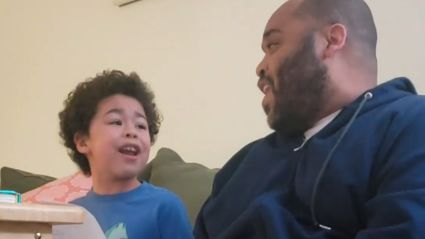 Father and son go viral with their adorable cover of Queen's 'Don't Stop Me Now'
