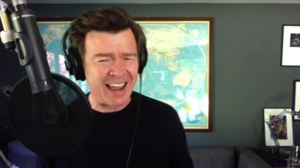 Rick Astley performs stunning stripped-back cover of Sia's 'Titanium'
