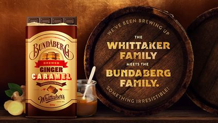 Whittaker's has just released a new limited edition flavour with Bundaberg